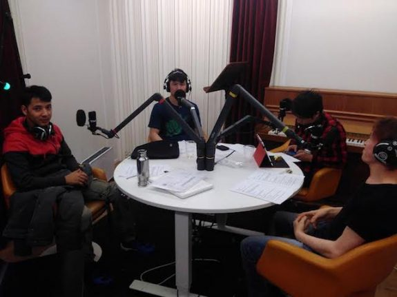 Salām Sverige – Sweden's newest podcast, by young refugees