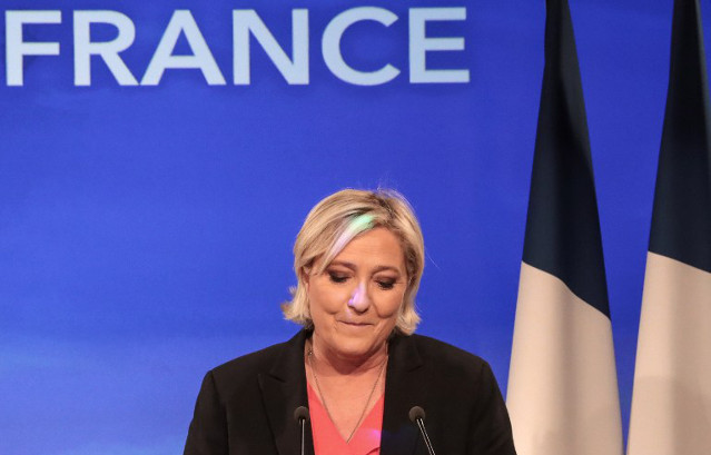 Marine Le Pen claims 'massive' gains but plans party revamp after defeat