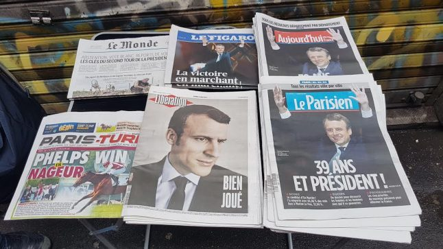 'France avoided a clinical death': How French media reacted to Macron's win