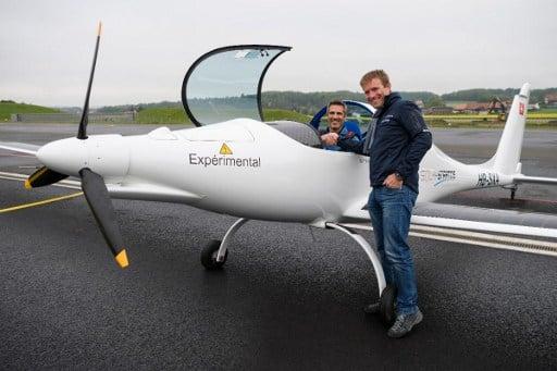 Solar plane aiming for stratosphere makes test flight