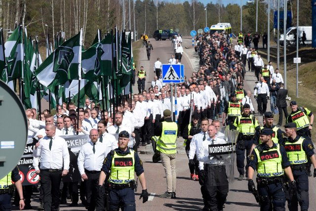 2016 saw a surge in neo-Nazi activity in Sweden: here's why