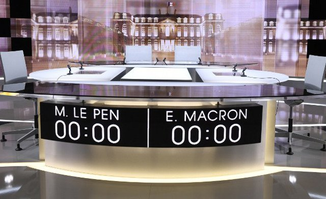 Could the live TV clash between Macron and Le Pen change the race?
