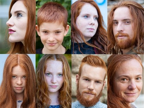 Gingerism: Exhibition opens to tackle abuse towards France's redheads