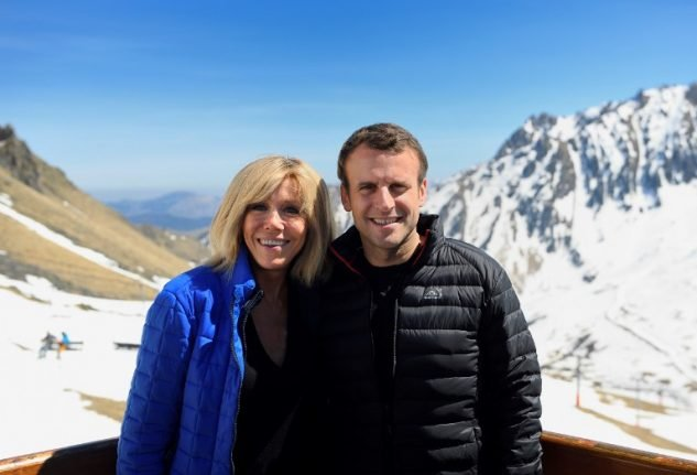 IN PICTURES: Emmanuel Macron's romance with France's new first lady Brigitte Trogneux
