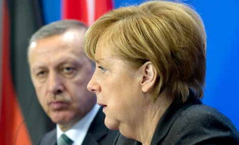 Merkel rules out Turkish vote in Germany on death penalty