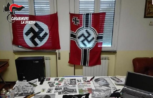 Italian police bust neo-Nazi group who targeted foreigners
