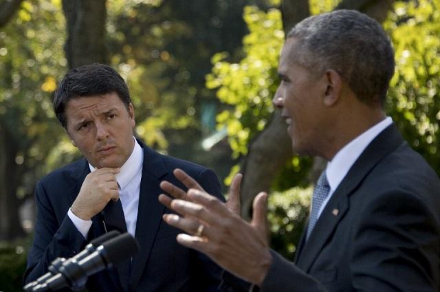 Barack Obama meets ex-PM Renzi in Milan