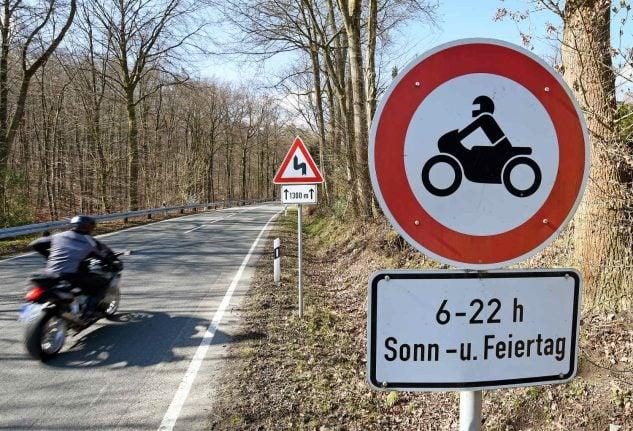 Horror weekend for bikers, as five die on German streets