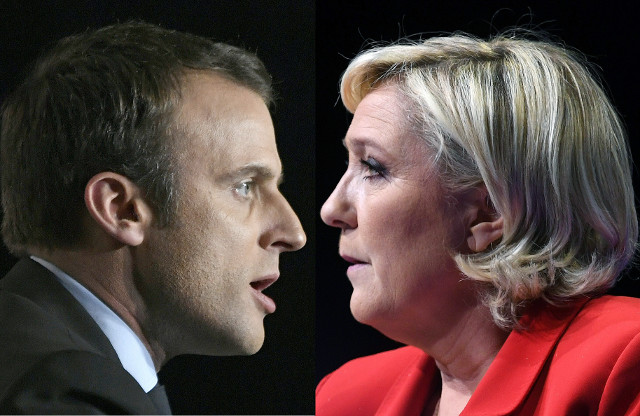 The 'perfect battle': Le Pen v Macron and their very different visions for France