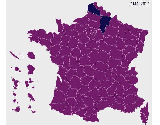 How the French voted: The maps and graphs that tell the story of Macron's win