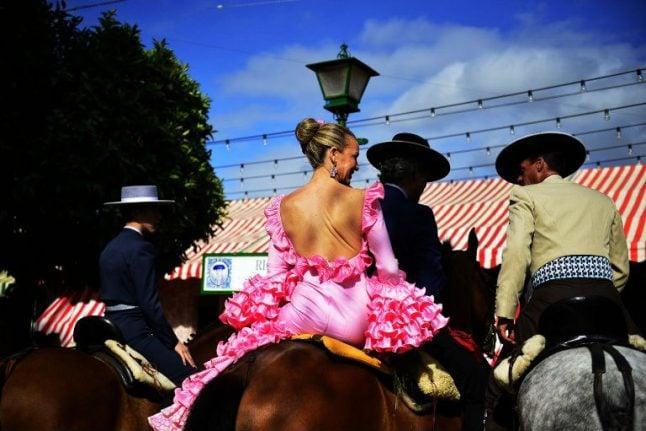 In pictures: Seville celebrates sumptuous April Fair