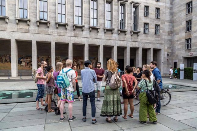 A tour of Berlin, through the eyes of refugees