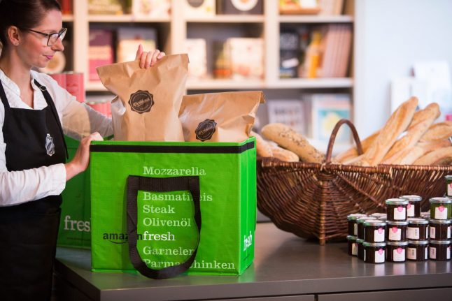 Amazon brings online supermarket to Germany, stirring up worries for competition