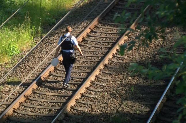 Arson attacks on German rail tracks, police probe G20 protest link