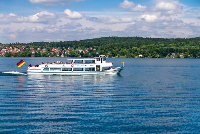 Four-year-old crashes boat into ferry on Swiss lake
