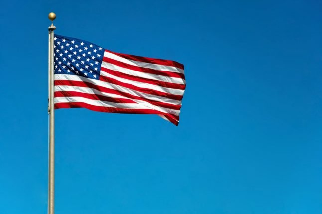 Danish family reported to police for flying US flag