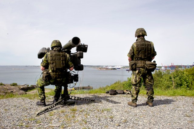 Sweden to replace its entire anti-aircraft system