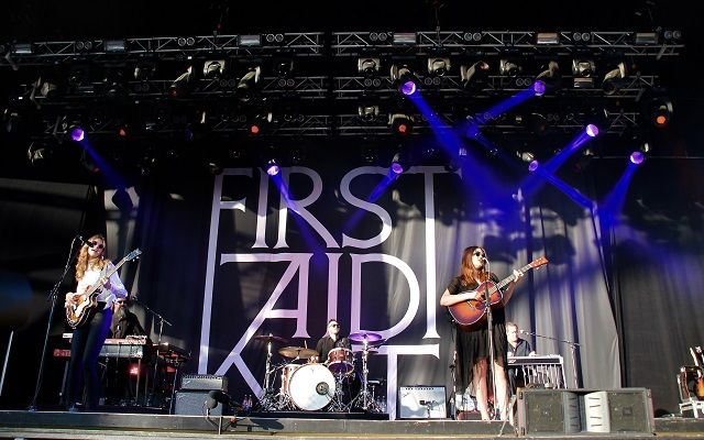 IN PICTURES: First Aid Kit at Gröna Lund, Stockholm
