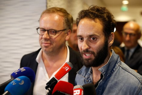 Released French photographer says Turkey sending 'message'