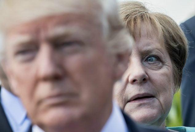 Merkel hopes to breathe new life into free trade talks with Washington