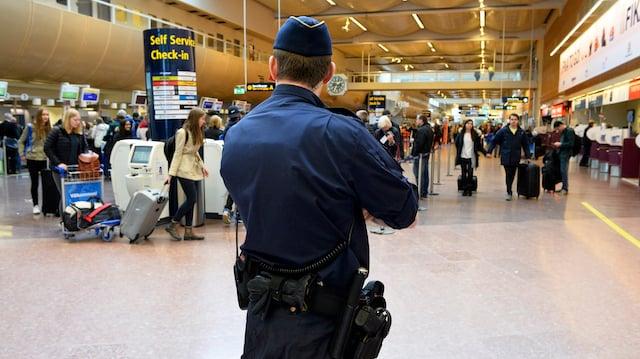 Serial rapist arrested at Stockholm Arlanda airport