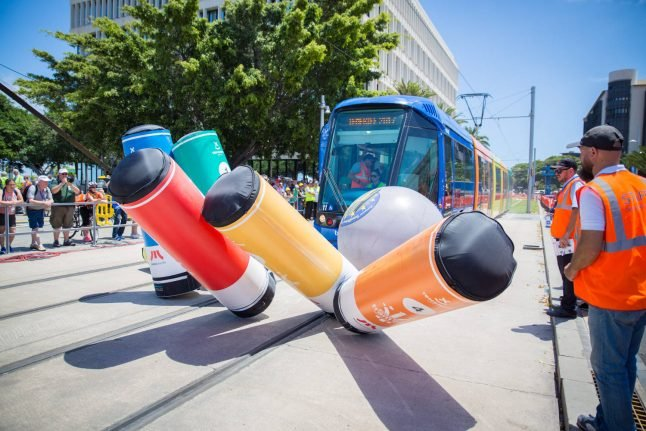 Berlin woman named European champion of tram driving