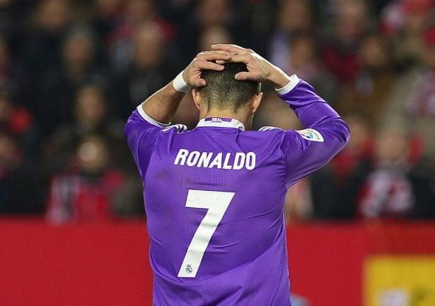 Cristiano Ronaldo accused of €14.7 million tax evasion