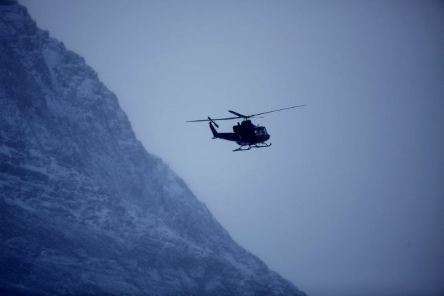 Hikers rescued from Swedish mountain in snow and fog
