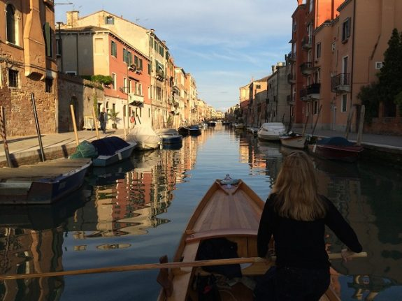 'Rowing in Venice is unique – it's the closest you'll get to walking on water'
