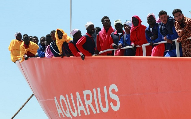 Over 120 migrants feared dead after their inflatable boat sank