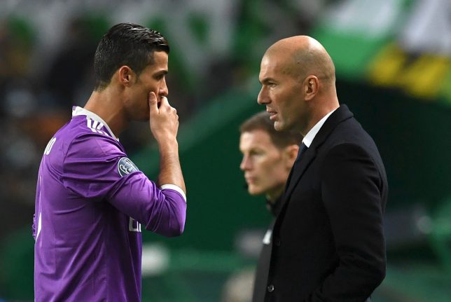 Coach Zidane pleads with Ronaldo after 'I quit' bombshell