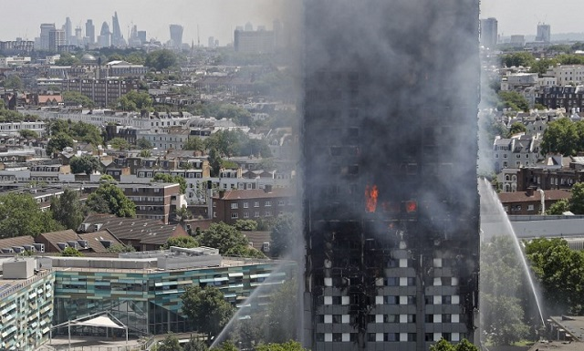 Two Italians reported missing in London tower block fire