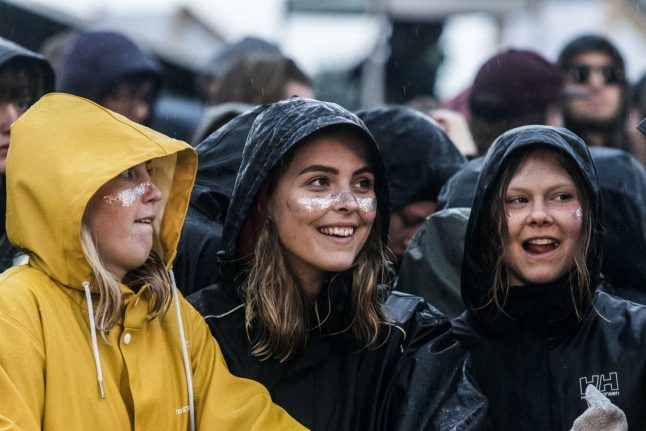 VIDEO: Northside festival gets drenched on opening day