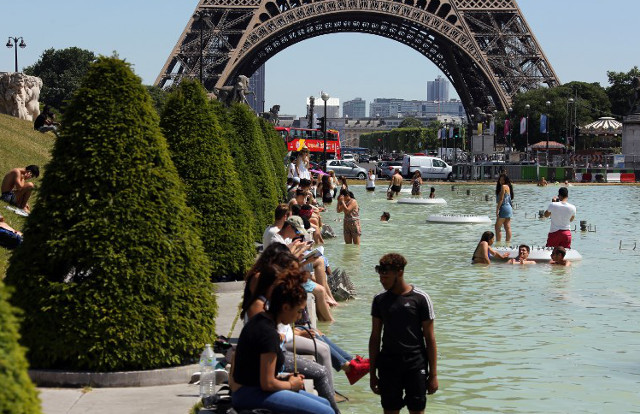Paris: Authorities trigger emergency heatwave plan as capital continues to sizzle