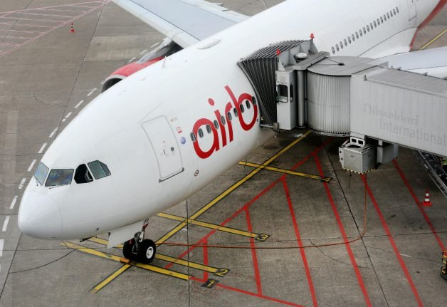 We're not about to go bankrupt, Air Berlin insists
