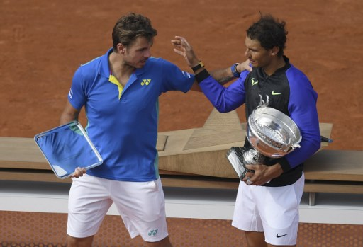 Wawrinka crushed by Nadal in French Open final
