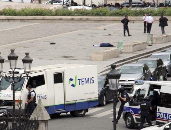 Paris hammer attack suspect worked as a journalist in Sweden: report