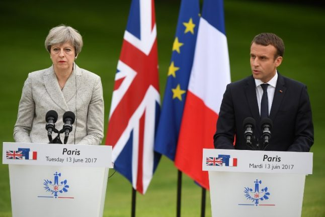French president Macron says door is still open for UK to stay in EU