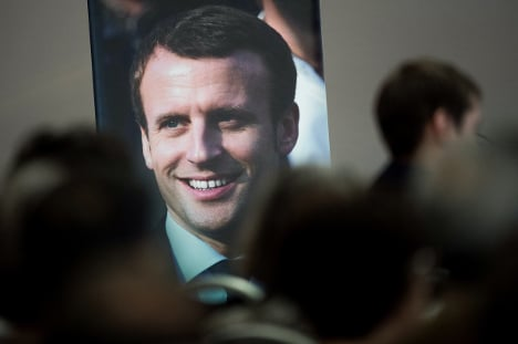 Macron's party on course for a landslide