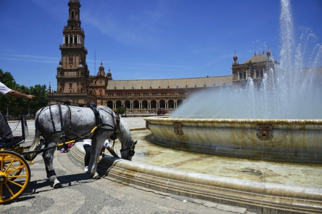 Scorchio! Spain sizzles in early summer heatwave