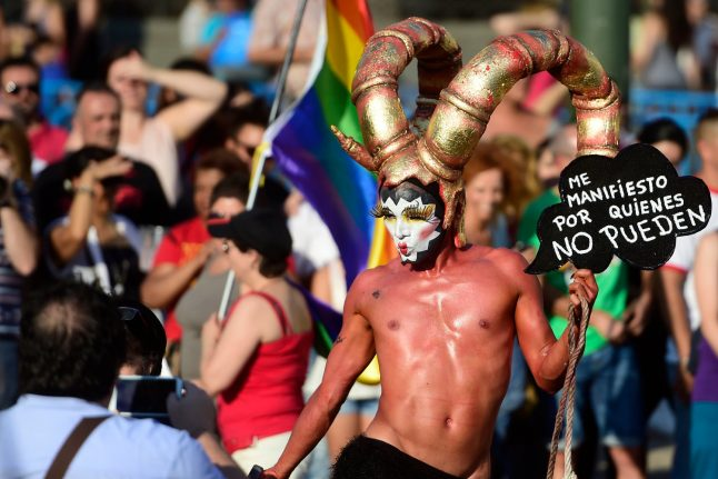 Gay-friendly Madrid gears up for WorldPride LGBT celebrations