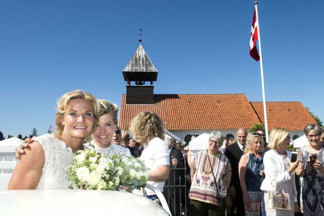 Danish priests marry more gay couples every year