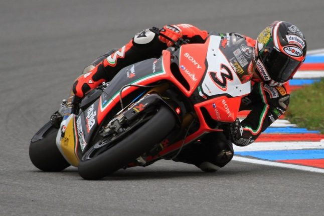 Motorcycling: Biaggi out of intensive care
