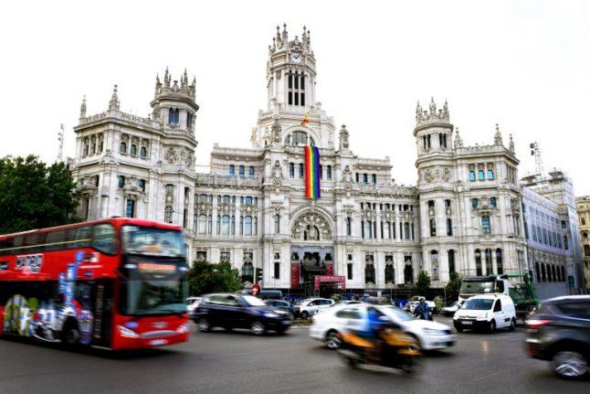 Madrid metro drivers call strike during WorldPride