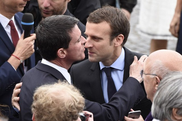 Former PM Valls quits Socialists to join Macron's army of MPs in parliament