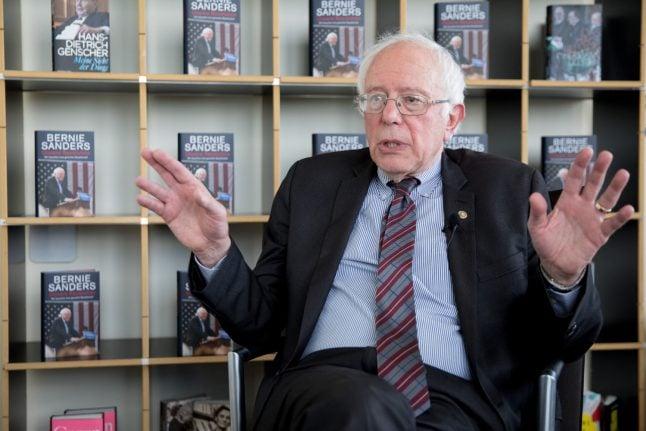 Bernie Sanders chides Donald Trump for criticizing Germany