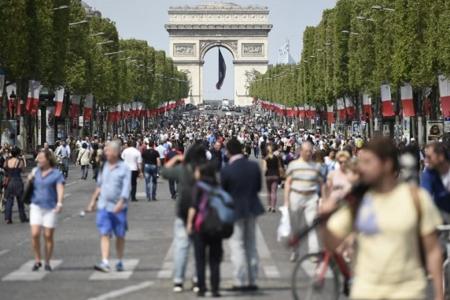 The whole of Paris to go completely car-free just for one day