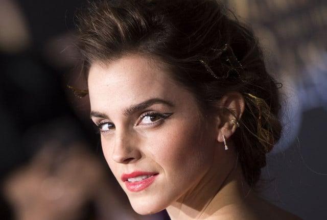 Actress Emma Watson hides copies of feminist book around Paris