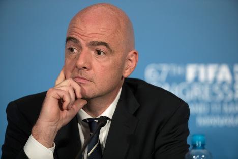 Infantino 'confident' in 2022 World Cup despite Qatar crisis