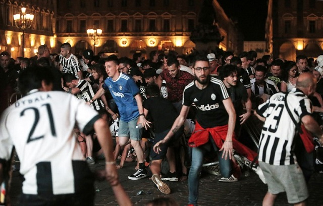 Turin bans late night alcohol sales after stampede that injured 1,500